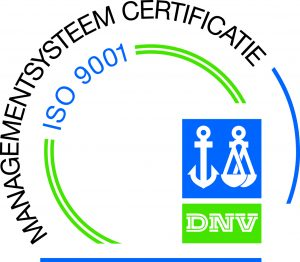 ISO 9001 Certificate logo by DNV